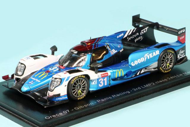 """スパーク 1/43 オレカ 07 ギブソン """"Panis Racing"""" ルマン 24h 2020 LMP2クラス 3rd No.31 S7971"""