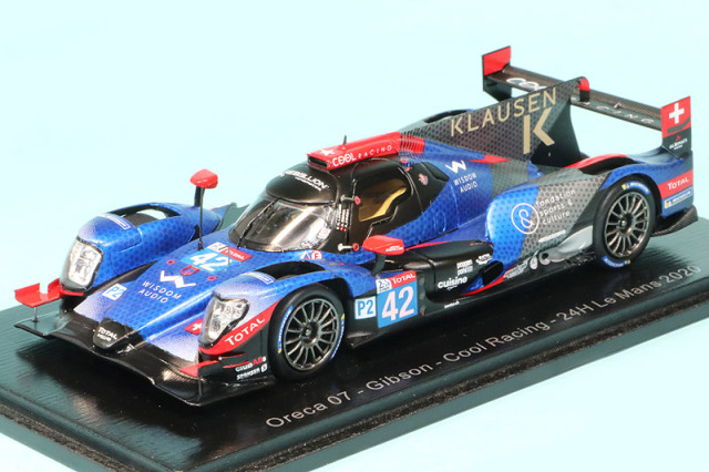 """スパーク 1/43 オレカ 07 ギブソン """"Cool Racing"""" ルマン 24h 2020 No.42 S7980"""