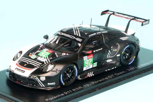 """スパーク 1/43 ポルシェ 911 RSR-19 """"Porsche GT"""" ルマン 24h 2020 No.92 S7984"""