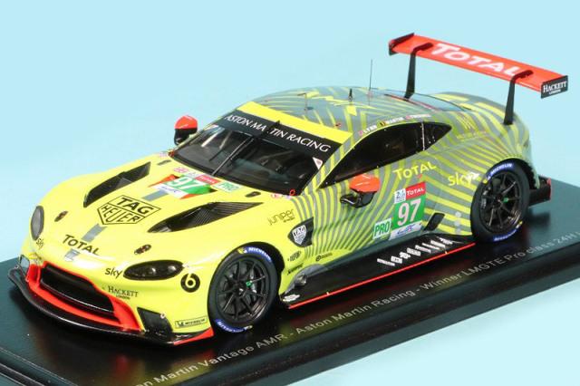 スパーク 1/43 アストン マーチン ヴァンテージ AMR ルマン 24h 2020 LMGTE Proクラス Winner No.97 S7986