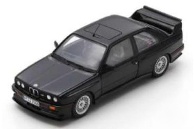[予約] スパーク 1/43 BMW M3 スポーツ エヴォリューション 1990 ブラック S8001