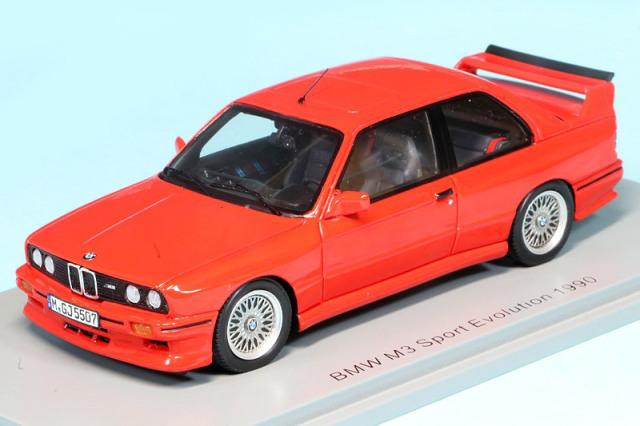 スパーク 1/43 BMW M3 スポーツ エヴォリューション 1990 レッド S8003