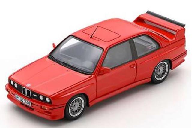 [予約] スパーク 1/43 BMW M3 スポーツ エヴォリューション 1990 レッド S8003
