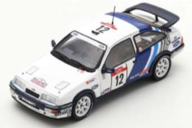 [予約] スパーク 1/43 フォード シエラ RS コスワース ツール ド コルス フランスラリー 1988 No.12 S8706