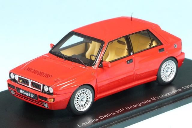 スパーク 1/43 ランチア デルタ HF インテグラーレ EVO 2 1993 レッド S8994