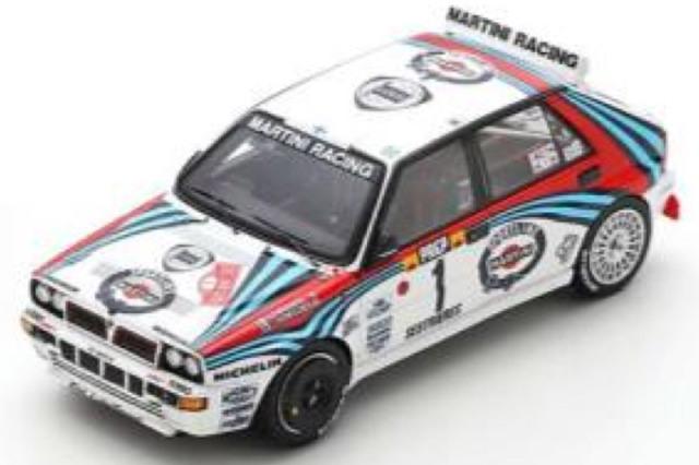 [予約] スパーク 1/43 ランチア デルタ HF インテグラーレ モンテカルロラリー 1992 3rd No.1 S9014
