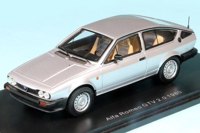 スパーク 1/43 アルファ ロメオ GTV 2.0 1980 シルバー S9046