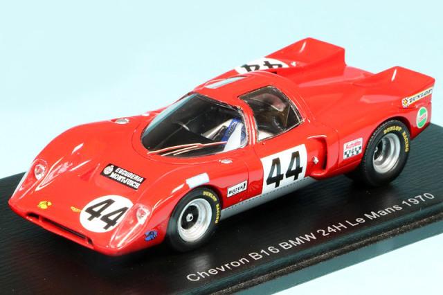 スパーク 1/43 シェブロン B16 BMW ルマン 24h 1970 No.44 S9401