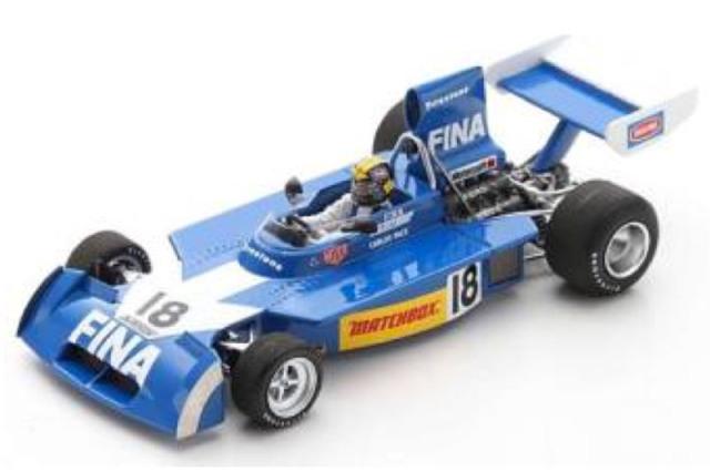[予約] スパーク 1/43 サーティース TS16 ブラジルGP 1974 4th C.パーチェ S9650