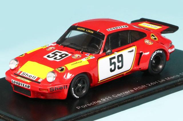 スパーク 1/43 ポルシェ 911 カレラ RSR ルマン 24h 1975 No.59 S9974