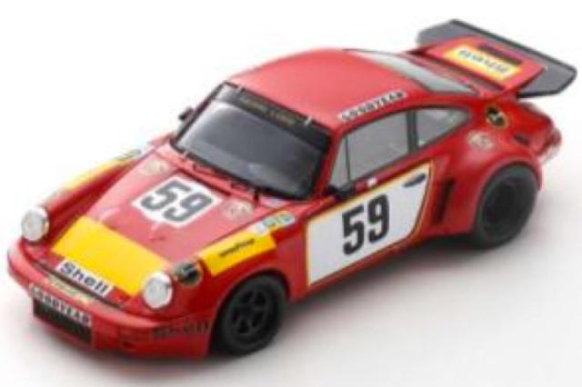[予約] スパーク 1/43 ポルシェ 911 カレラ RSR ルマン 24h 1975 No.59 S9974