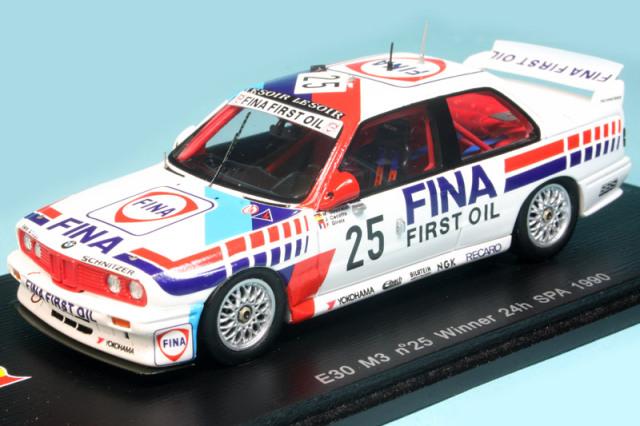 スパーク 1/43 BMW E30 M3 スパ 24h 1990 Winner No.25 SB068