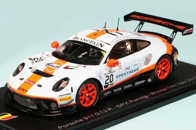 スパーク 1/43 ポルシェ 911 GT3 R スパ 24h 2019 Winner No.20 SB251