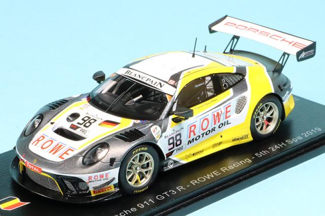 スパーク 1/43 ポルシェ 911 GT3 R スパ 24h 2019 5th No.98 SB254