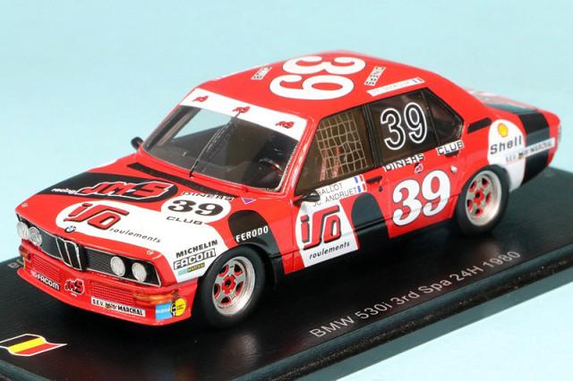 スパーク 1/43 BMW 530i スパ 24h 1980 3rd No.39 SB330