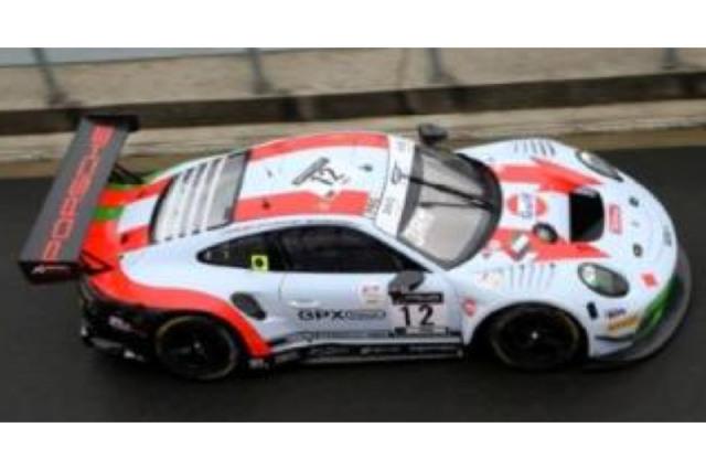 [予約] スパーク 1/18 ポルシェ 911 GT3 R スパ 24h 2020 4th No.12 18SB019