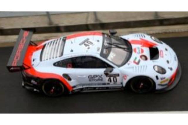 [予約] スパーク 1/18 ポルシェ 911 GT3 R スパ 24h 2020 No.40 18SB020