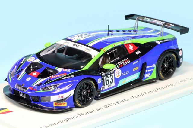 スパーク 1/43 ランボルギーニ ウラカン GT3 Evo スパ 24h 2020 No.163 SB391