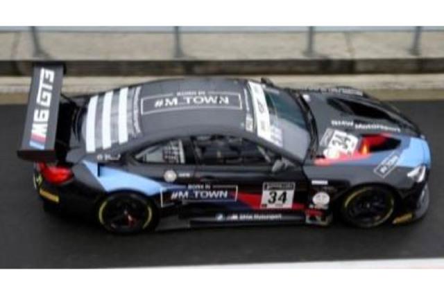 [予約] スパーク 1/18 BMW M6 GT3 スパ 24h 2020 No.34 18SB028