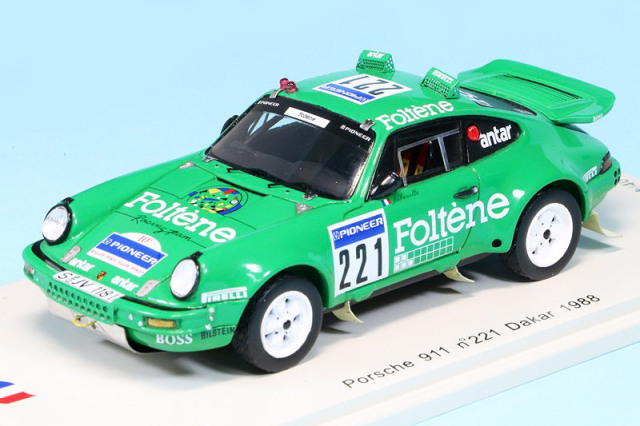 スパーク 1/43 ポルシェ 911 ダカール 1988 No.221 SF035