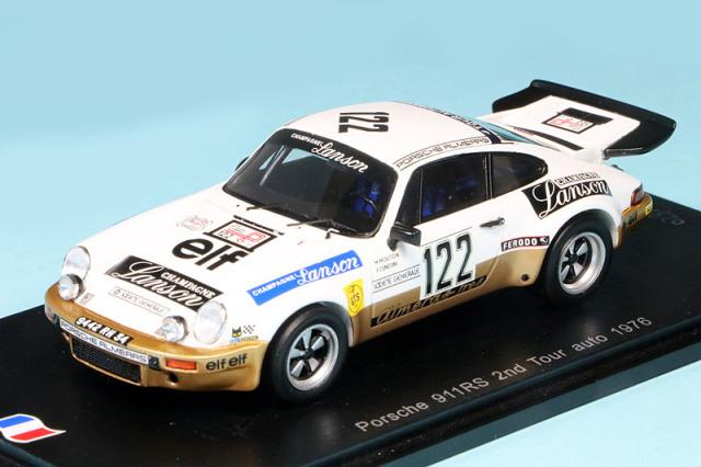 スパーク 1/43 ポルシェ 911 カレラ RS TdF オートモービル 1977 No.122 SF116