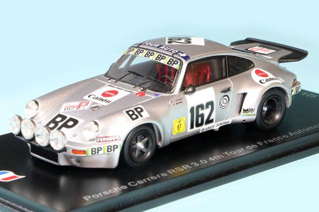 スパーク 1/43 ポルシェ カレラ RSR 3.0 ツール ド フランス 1977 4th No.162 SF203