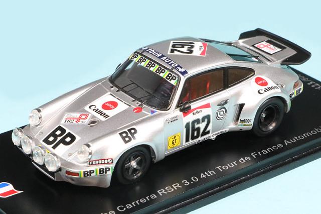 スパーク 1/43 ポルシェ カレラ RSR 3.0 ツール ド フランス 1977 4th No.162 デカール加工品 SF203S