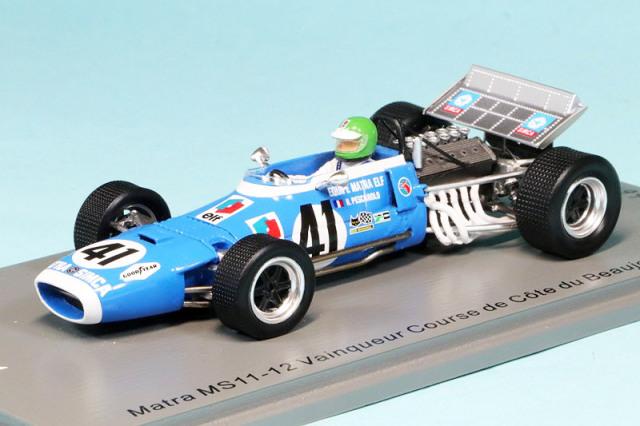 スパーク 1/43 マトラ MS11-12 Course de Coe du ボジョレー 1970 H.ペスカローロ SF240