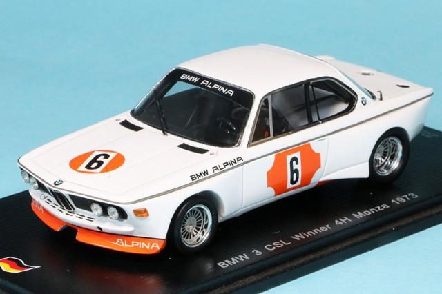 スパーク 1/43 BMW 3.0 CSL モンツァ 4h 1973 Winner No.6 SG359