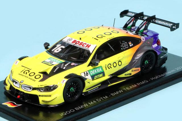 スパーク 1/43 IQOO BMW M4 DTM RMG ホッケンハイム 2020 No.16 SG662
