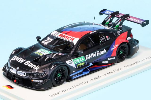 スパーク 1/43 BMW Bank BMW M4 DTM RMR ホッケンハイム 2020 No.22 SG663