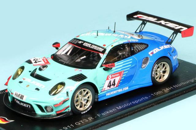 スパーク 1/43 ポルシェ 911 GT3 R Falken Motorsports ニュルブルクリンク 24h 2020 10th No.44 SG689