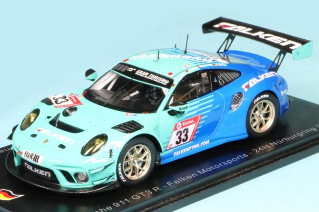 スパーク 1/43 ポルシェ 911 GT3 R Falken Motorsports ニュルブルクリンク 24h 2020 No.33 SG690