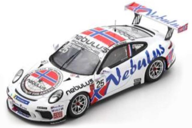 [予約] スパーク 1/43 ポルシェ 911 GT3 Cup カレラカップ ドイツ 2020 チャンピオン No.25 SG714