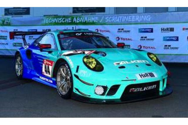 [予約] スパーク 1/43 ポルシェ 911 GT3 R ニュルブルクリンク 24h 2021 4th No.44 SG753