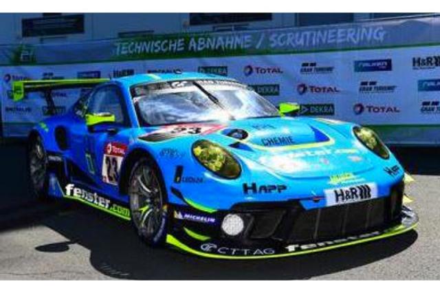 [予約] スパーク 1/43 ポルシェ 911 GT3 R ニュルブルクリンク 24h 2021 8th No.23 SG757