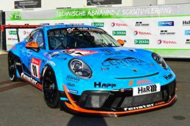 [予約] スパーク 1/43 ポルシェ 911 GT3 CUP ニュルブルクリンク 24h 2021 SP7クラス Winner No.80 SG769