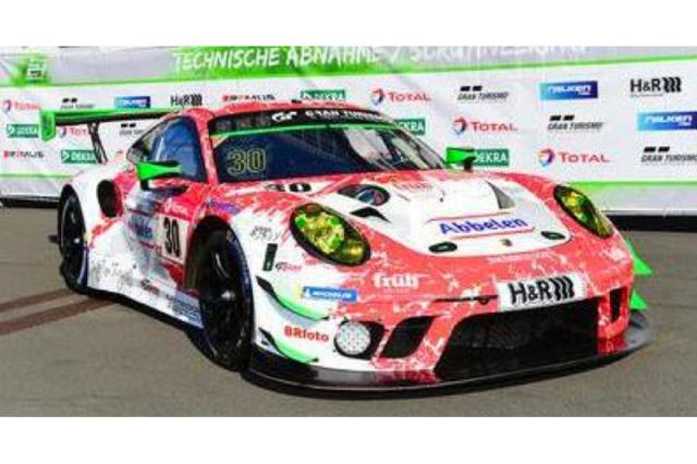 [予約] スパーク 1/43 ポルシェ 911 GT3 R ニュルブルクリンク 24h 2021 No.30 SG789