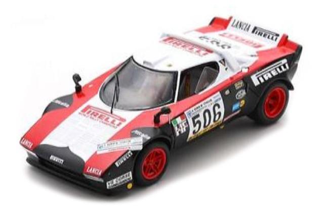 [予約] スパーク 1/43 ランチア ストラトス ジロ デ イタリア 1978 Winner No.506 SI011