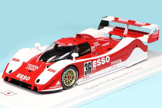スパーク 1/43 トヨタ TS010 ミネ 500km 1992 Winner No.36 SJ068