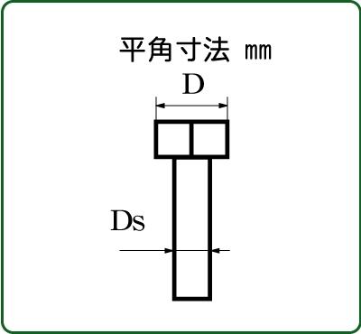 さかつう 六角ボルト 平径1.0mm 胴径(埋め込み部分)0.5mm 10個入り SKT-4500
