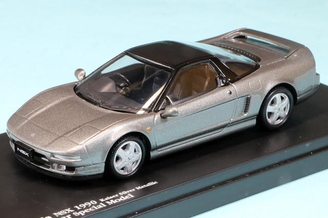 sideriver特注 1/43 ホンダ NSX 1990 カイザーシルバーメタリック SR1394