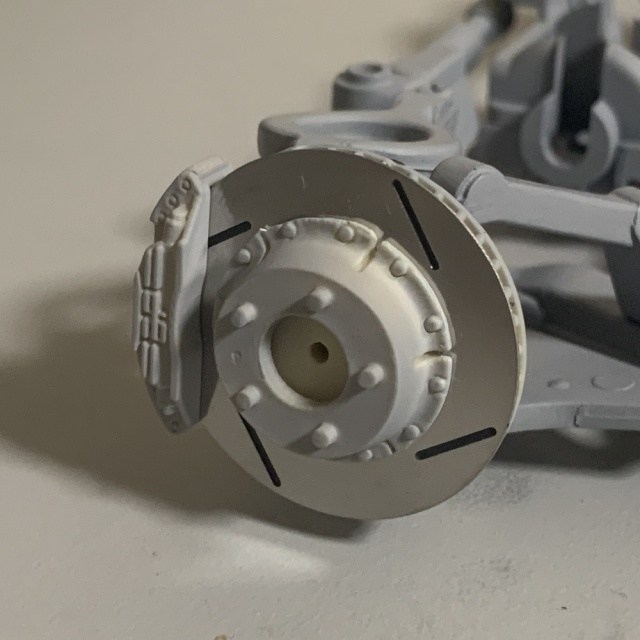 Studio Rosso 1/12 ニッサン GT-R R32 Gr.A Wheel (SSR)ディスクブレーキ セット SRP-025