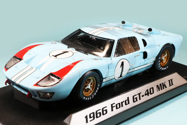 ShelbyCollectibles 1/18 フォード GT40 Mk.2 ルマン 24h 1966 No.1 Shelby411