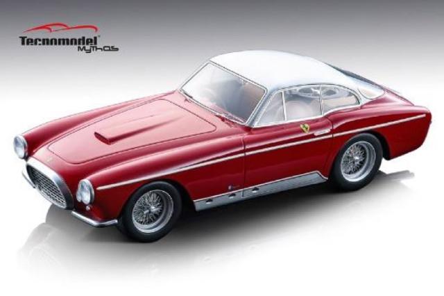 [予約] テクノモデル 1/18 フェラーリ 250MM クーペ ヴィニャーレ 1953 レッド/メタリックシルバールーフ T18-101B