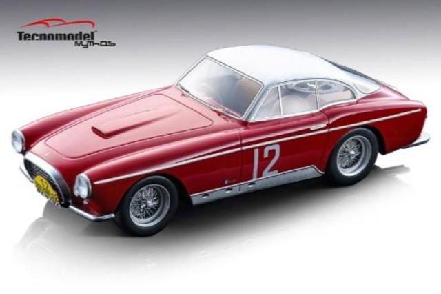 [予約] テクノモデル 1/18 フェラーリ 250MM クーペ ヴィニャーレ Liegi Rome Liegi 1954 No.12 T18-101D