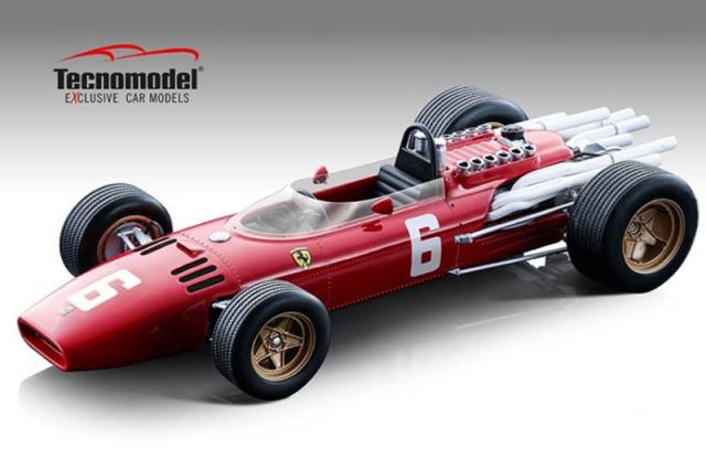 [予約] テクノモデル 1/18 フェラーリ 312 F1 イタリアGP 1966 Winner L.スカルフィオッティ T18-163A
