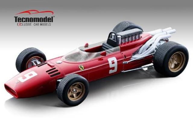 [予約] テクノモデル 1/18 フェラーリ 312 F1 ドイツGP 1966 L.バンディーニ T18-163B