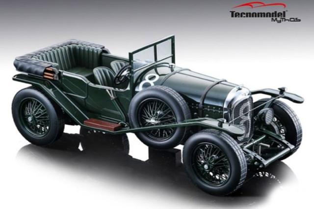 [予約] テクノモデル 1/18 ベントレー 3L ルマン 24h 1924 Winner No.8 (ルーフなし) T18-204A