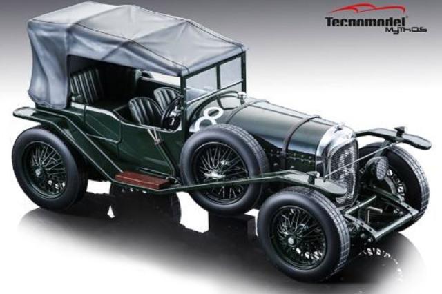 [予約] テクノモデル 1/18 ベントレー 3L ルマン 24h 1924 Winner No.8 (ルーフ付) T18-204B